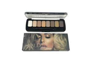 Тени HUDA BEAUTY  3D Eyeshadow 8 цветов