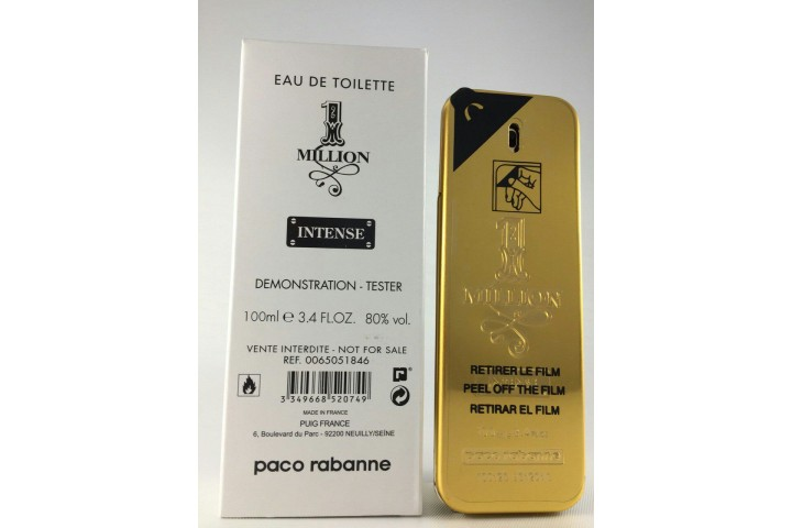 Paco Rabanne 1 Million Intense EDT TESTER 100ml