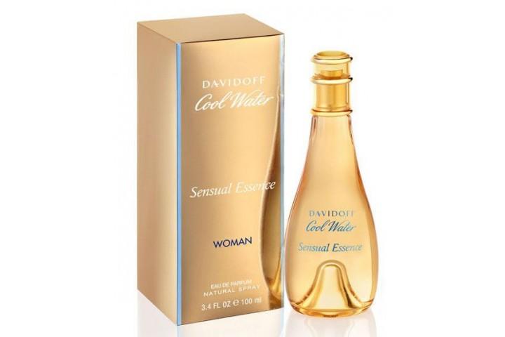 Женская парфюмерная вода Davidoff Cool Water Sensual Essence (Давидофф Кул Воте Сенсуаль Эсенс)