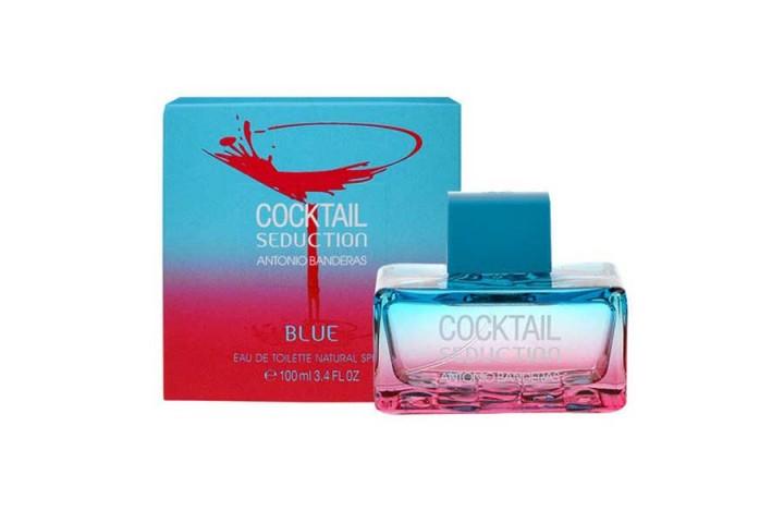 Женская туалетная вода Antonio Banderas Cocktail Seduction Blue for Women (Антонио Бандерас Коктель Седакшн фо Вумен)
