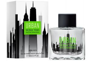 Мужская туалетная вода Antonio Banderas Urban Seduction In Black for Men (Антонио Бандерас Блю Урбан Седакшн Ин Блэк фор Мен)