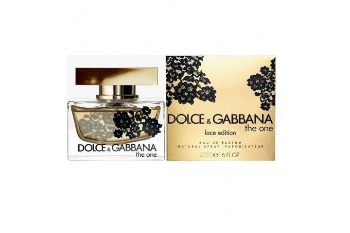 Женская парфюмерная вода Dolce & Gabbana The One Lace Edition (Дольче Габбана Ван Лес Эдишн)