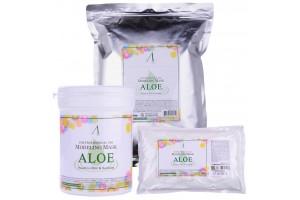 Маска альгинатная с алоэ успокаивающая Anskin Aloe Modeling Mask