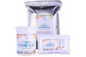 Маска альгинатная охлаждающим и успокаивающим эффектом Anskin Cool-Ice Modeling Mask