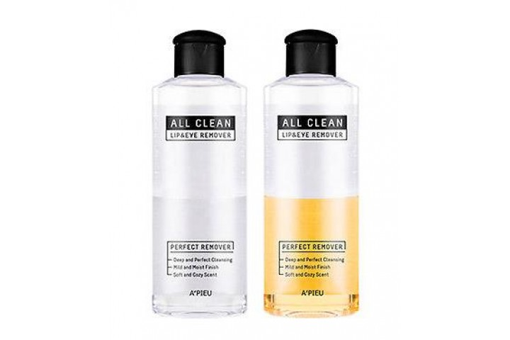 Жидкость для снятия макияжа A'Pieu All Clean Lip & Eye Remover