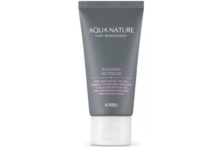 Гель для лица очищающий A'Pieu Aqua Nature Blackhead Melting Gel
