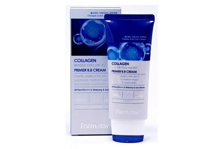 Вв-крем с коллагеном увлажняющий FarmStay Collagen Water Full Moist Premium Bb Cream Spf 50 Pa+++