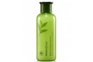 Тонер с зеленым чаем Innisfree Green Tea Balancing Skin