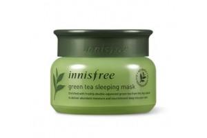 Маска для лица ночная Innisfree Green Tea Sleeping Pack