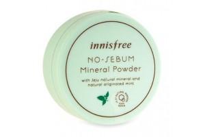 Пудра минеральная для жирной кожи Innisfree Nosebum Mineral Powder 5G