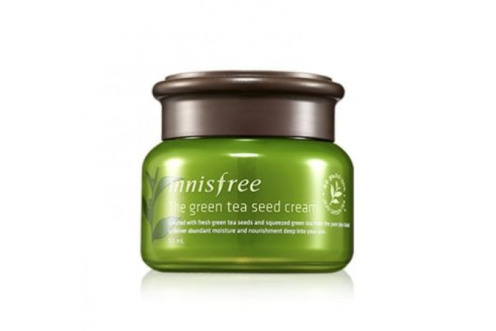 Крем для лица Innisfree The Green Tea Seed Cream