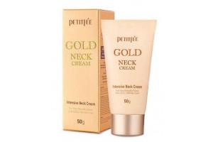 Крем для шеи антивозрастной с золотом Petitfee Gold Neck Cream