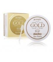 """Патчи гидрогелевые с золотом и egf """"премиум"""" Petitfee Gold & Egf Eye & Spot Patch Premium"""