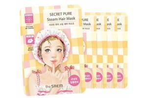 Маска паровая для поврежденных волос The Saem Secret Pure Steam Hair Mask