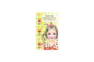Пластырь для удаления угрей The Saem Secret Pure Nose Clear Kit 1-2-3