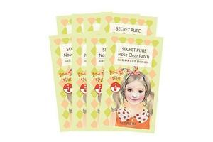 Набор пластырей против акне The Saem Secret Pure Nose Clear Patch Set (8Pcs)