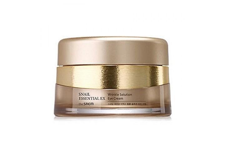 Крем для глаз антивозрастной The Saem Snail Essential Ex Wrinkle Solution Eye Cream