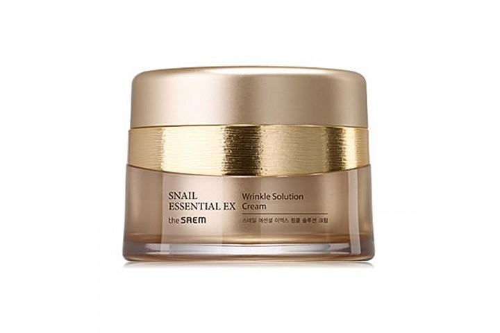 Крем антивозрастной The Saem Snail Essential Ex Wrinkle Solution Cream