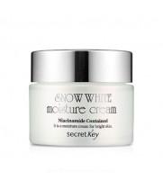 Крем для лица увлажнение отбеливание Secret Key Snow White Moisture Cream