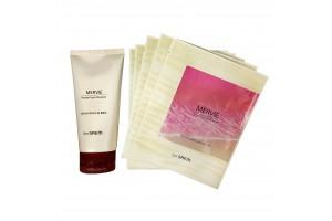 Набор тканевых масок + пенка The Saem Mervie Hydra Gift 2 Set