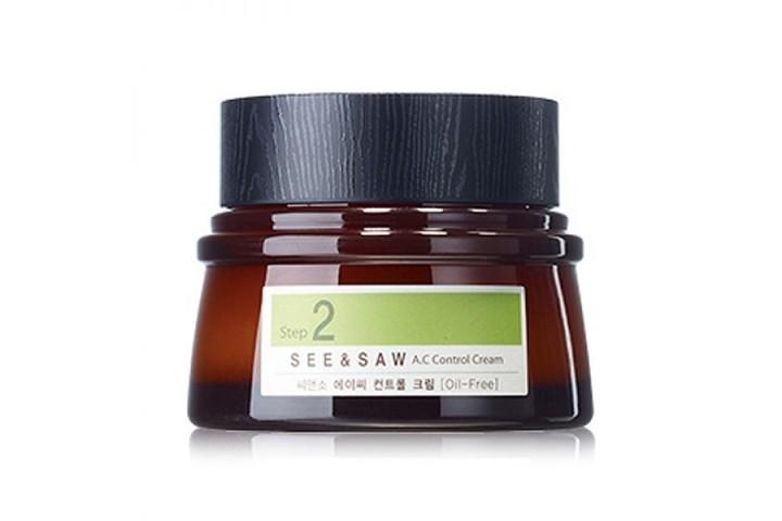 Крем для контроля чистоты и жирности кожи The Saem See & Saw Ac Control Cream