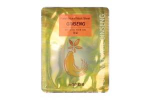 Маска тканевая с красным женьшенем The Saem Pure Natural Mask Sheet Ginseng