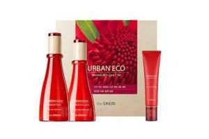 Набор уходовый тонер, лосьон и крем The Saem Urban Eco Waratah Skin Care 2 Set