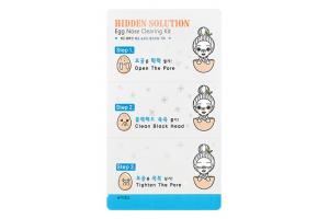 Набор пластырей для очищения кожи носа A'Pieu Hidden Solution Egg Nose Clearing Kit