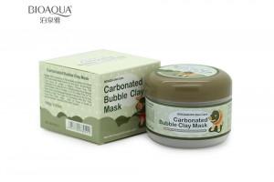 Очищающая пузырьковая маска  BioAqua Carbonated Bubble Clay Mask