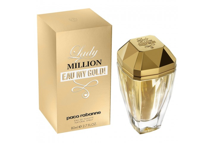 Женская туалетная вода Paco Rabanne Lady Million Eau My Gold (Духи Пака Рабан Леди Миллион Май Голд)