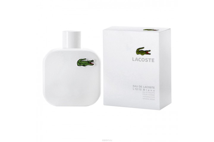 Мужская туалетная вода Lacoste Eau De Lacoste L.12.12 Blanc (Лакост О Де Лакост Л.12.12 Бланк)