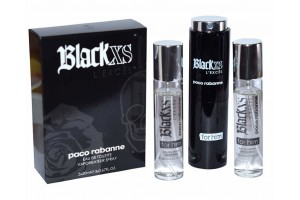 Paco Rabanne Black XS L`Exces for him, edt 3x20 ml