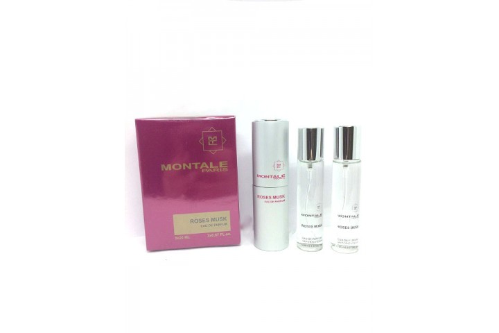Montale paris Roses Musk , edp 3x20ml