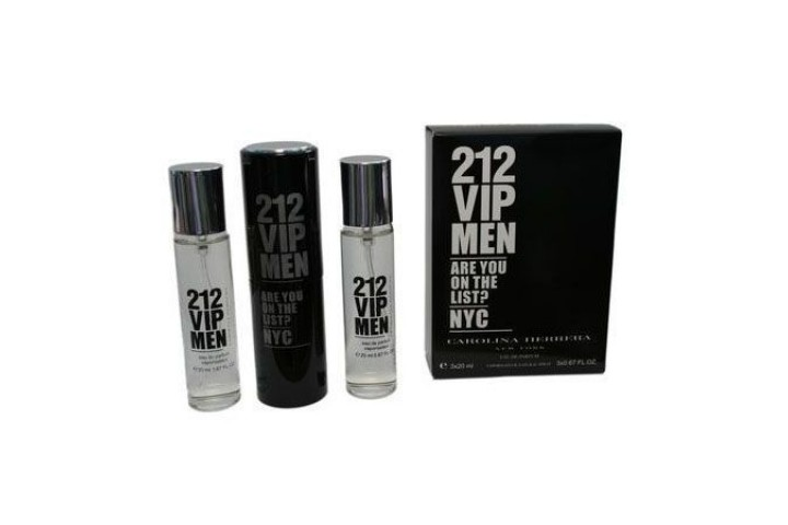 Carolina Herrera — 212 VIP Men. 3x20 ml