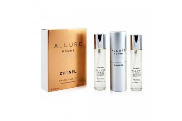 Chanel — Allure Homme Edition Blanche. 3x20 ml