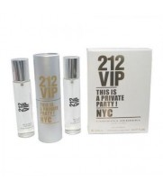 Carolina Herrera — 212 VIP. 3x20 ml