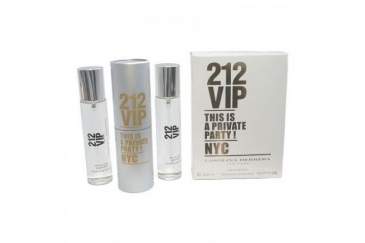 Carolina Herrera 212 Vip, 3x20 ml