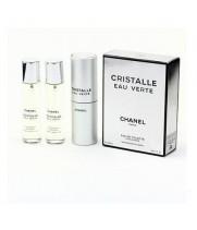 Chanel - Cristalle eau Verte. 3x20 ml