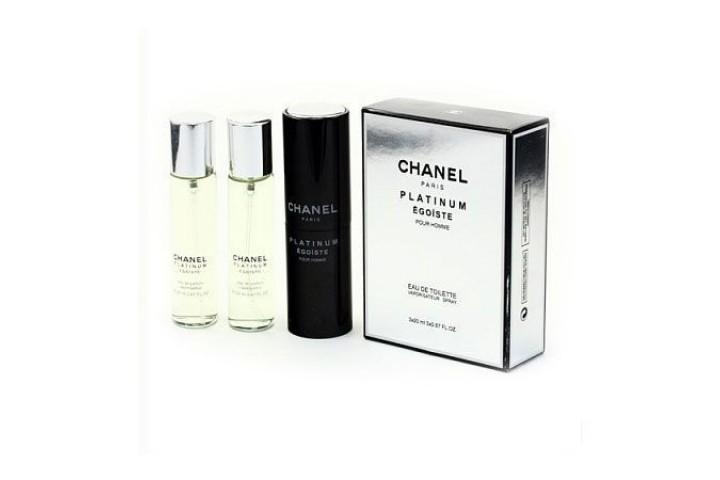 Chanel - Platinum Egoiste. 3x20 ml