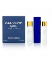 Dolce&Gabbana - Light Blue Pour Homme. 3x20 ml
