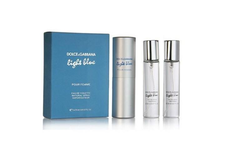 Dolce&Gabbana — Light Blue. 3x20 ml