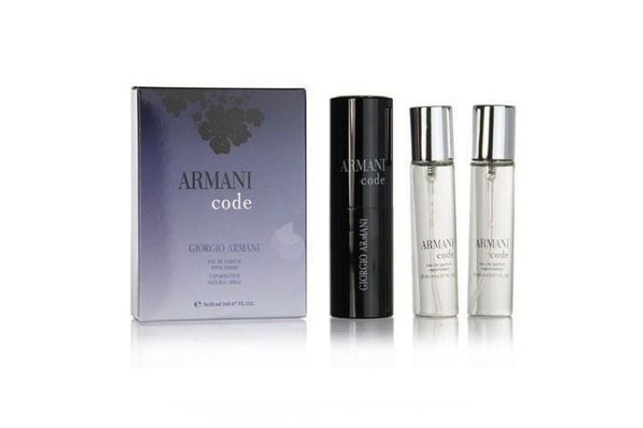 Giorgio Armani - Code. 3x20 ml