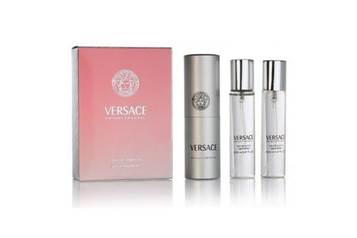 Versace Bright Crystal. 3x20 ml