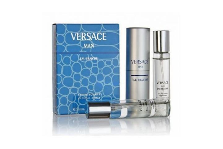 Versace - Man Eau Fraiche. 3x20 ml