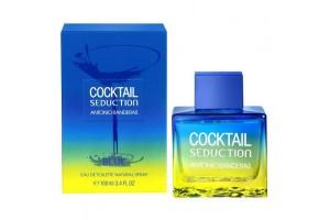 Мужская туалетная вода Antonio Banderas Cocktail Seduction Blue for Men (Антонио Бандерас Коктейл Седакшн Блю)