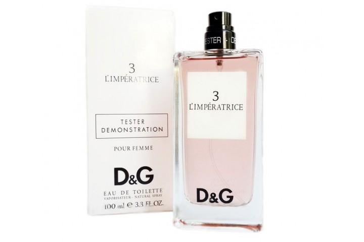 Dolce & Gabbana 3 L`imperatrice TESTER женский